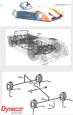 Chassis and suspension models